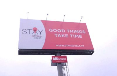 STAY HOTELS lança campanha outdoor Stay Home